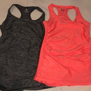 Old Navy Activewear Ruched Tank Tops